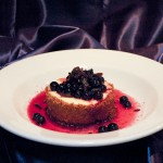 Spice Blueberry Cheesecake
